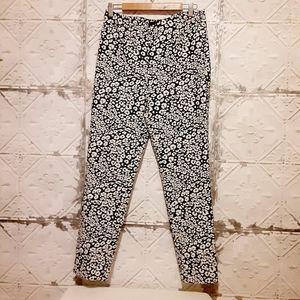 Zara Basic Leopard Print Pants